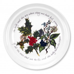 PORTMEIRION The Holly and The Ivy ontbijtbord doorsnee 21,5 cm