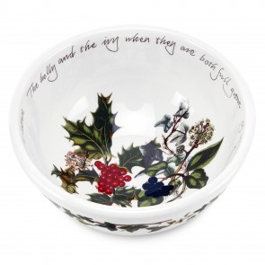 PORTMEITION The Holly and The Ivy (dessert) schaaltje doorsnee 14 cm hoogte 6,5 cm