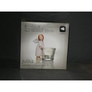 LEONARDO Julika theelichthouder met engeltje