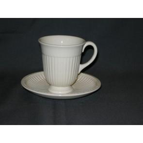 Wedgwood Edme plain koffiekop & schotel