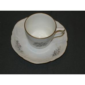 Rosenthal Sanssouci  Grau Rose schotel koffiekop