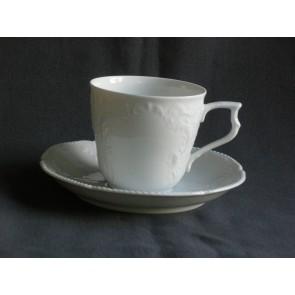 Rosenthal Sanssouci WeiS koffiekop & schotel groot