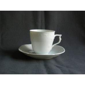 Rosenthal Sanssouci WeiS koffiekop & schotel klein