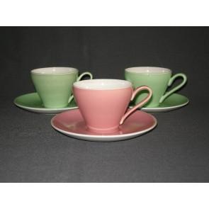 Ceramique Maestricht pastel rose kop & schotel