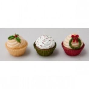 Long Island Living kaarsjes cupcakes