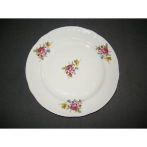 Seltmann & Weiden spierwit met bloemdecor en relief ontbijtborden