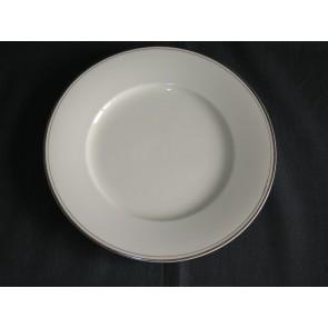 MOSA roomwit met breed en smal goudkleurig randje ontbijtborden