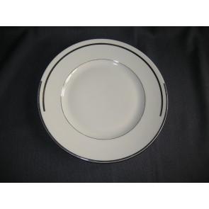 Spenzo roomwit zilver ontbijtborden