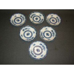 Blue Rose petit-four set