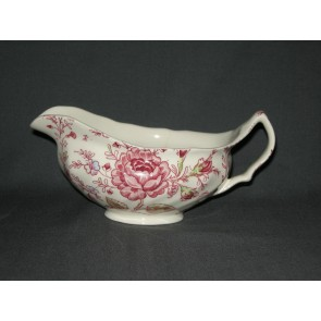 Johnson Brothers Rose Chintz sauskom met dun scheurtje