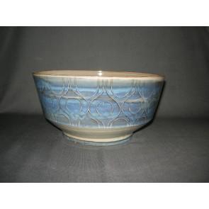 Volendams aardewerk blauw / grijs schaal