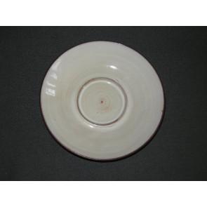 Zaalberg donkerbruin / wit schotel
