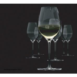 SALT & PEPPER Cuvee set van 6 witte wijnglazen inh 47 cl