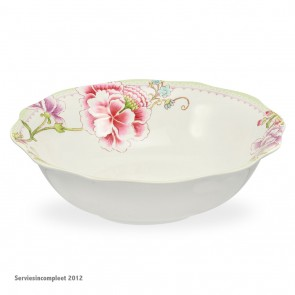PORTMEIRION Porcelain Garden pastabord cq schaal doorsnee 23 cm