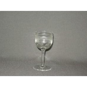 gebruikt glas rollend geld steel O4 cm.