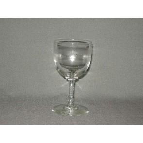 gebruikt glas rollend geld steel O6 cm.