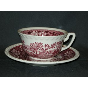 Villeroy & Boch Rusticana rood kop & schotel thee / soep