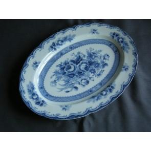 Blue Rose vleesschaal 31 x 22,5 cm.
