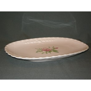 Hutschenreuther Porcelaine Rose Drache met roosdecor vleesschaal